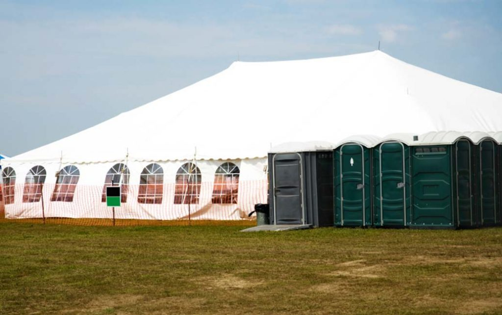 exterior festival show marquee
